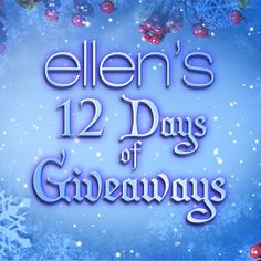 Each day we're giving home viewers a chance to win! Plus, Ellen's Facebook fans and Twitter followers will get an extra chance!