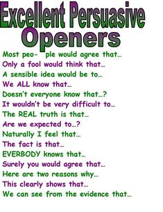 excellent persuasive openers persuasive writing examplespersuasive