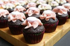 Baby Shower Mini Cupcakes - Lactose Free!