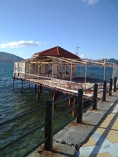 Live in the Hot Water. Greece, Landscapes, Island, Mansions, Live, House Styles, Water, Hot, Travel