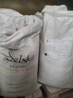 Calce per realizzare il Tadelakt,   importata da Marrakech.