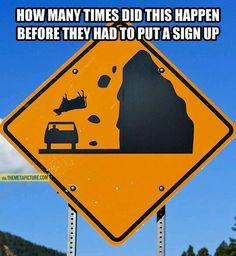 Kuer som faller ned på veien!? Ikke så mye om det hvor jeg kjører men jeg venter spent på den dagen som det skjer ;-)