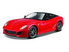 The Burago Ferrari 599 GTO is a diecast model car from this fantastic manufacturer in 1/24th scale.