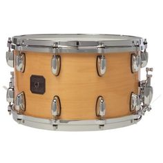 """Gretsch 8"""" x 14"""" Maple Snare Drum by Gretsch. $439.59. The 10-ply Maple snares feature a 100% Maple shell with Gretsch silver sealer, Die Cast hoops, Evans drum heads, and adjustable throw-off."""