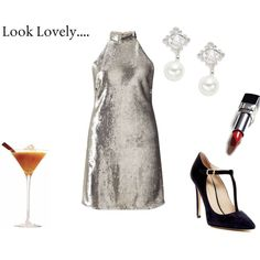 LOOK LOVELY by rosaregaler on Polyvore featuring Miss Selfridge, Charles David, Nadri and vintage