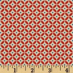 Coupon tissu motifs géométriques rougeshttp://www.alittlemercerie.com/tissus-pour-patchwork/coupon_tissu_motifs_geometriques_rouges_-1449775.html
