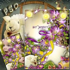Photo Frame - In the world of children's fantasy