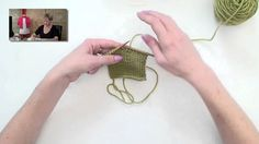 Knitting Help - Buttonholes. This technique is a very simple way to put buttonholes in your work. The technique is the same, regardless of the size of buttons you are using and your gauge...you will just want to bind-off/cast-on more stitches for a bigger buttonhole.
