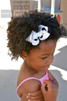 Chocolate Hair / Vanilla Care: Shingling to define curl pattern