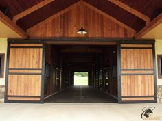 No one enjoys doing barn chores in the winter, but when you design your #barn there are ways that you can make those chores in and around your #HorseStalls easier. Here's how.... #ClassicEquineEquipment
