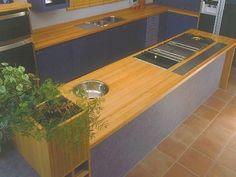 NZ ash kitchen bench 25