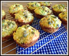 Deluxe Bacon & Vege Muffins