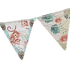 Party Bunting - Pastries & Pearls design - add a touch of fun to a gathering with friends