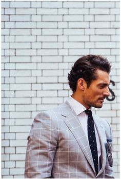 @nicolemarkhoff Spotted David Gandy at the MS LC:M show #msbob #lcm !