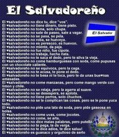 Us salvadorians...