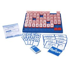 Finn tallet Bingo. Morsomt spill som vil engasjere barnene.