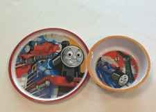 Thomas The Train 2 piece Bowl and Plate Set Toddler Zak Designs Dinnerware Set