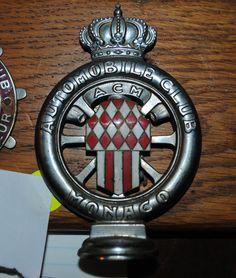 Badges & Mascots Automobile Club De Cannes Car Grill Badge Emblem Logos Metal Enamled Car Grill B