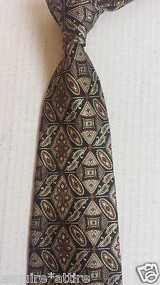 men ties on sale (dress tie, silk tie, bow tie, sets, cufflinks) : MARK ALEXANDER men dress neck #silk tie black with gold geometric pattern USA withing our EBAY store at  http://stores.ebay.com/esquirestore