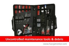 How controlled are your maintenance activities? Find out the answers at #FSHChallenge on www.haccpmentor.com