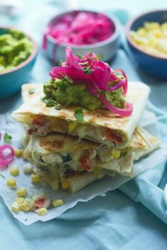 Corn, Crab, and Lobster Quesadillas - Cooking for Keeps
