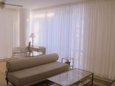 Sheer Drapes for floor to ceiling windows in New York City apartments