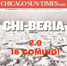 Chicago Sun-Times, published in Chicago, Illinois USA Newspaper Layout, Chicago Sun Times, Important News, My Kind Of Town, Page Design, News Design, Chicago Illinois, Compact, Travel Tips