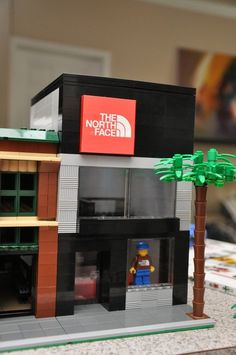 Custom city clothes sports store Model built by ABSDistributors, $120.00