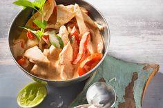 Hühnchenbrustfilet in Curry - Kokosmilch - Soße