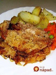 Top Recipes, Meat Recipes, Cooking Recipes, Healthy Recipes, Czech Recipes, Ethnic Recipes, Pork Tenderloin Recipes, Pork Dishes, Food 52