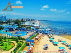 Bãi biển Vũng Tàu là nơi tổ chức tour team building trên biển lý tưởng nhất