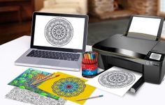 Print your own coloring book now! Definitely more cost efficient.