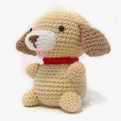Playful puppy - Free amigurumi pattern