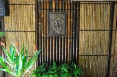 black bamboo panels with feature  http://www.bambooland.com.au/Bamboo-panels/Black-bamboo-with-feature#