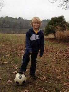 My Sons, Hunter & Dylan, showing off their Soccer Skills...I am so happy to be a www.MomatLast.com