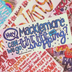 Thrift Shop - Macklemore and Ryan Lewis feat Wanz Best Song Ever, Best Songs, Lyric Art, Music Lyrics, Thrift Shop Lyrics, Macklemore Quotes, Pop Some Tags, Lyric Drawings, Music Express