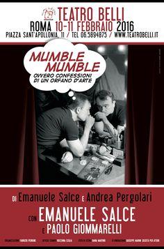 Locandina Teatro Belli Mumble