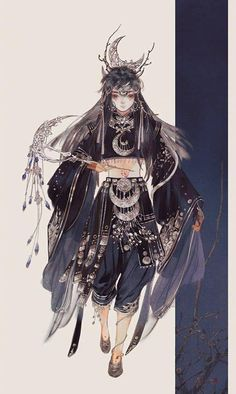 Just empty eyes .He is afraid .He is lonely , sad, qualtiy,a witness . Illustrations, Illustration Art, Chinese Drawings, China Art, Japanese Art, Art Girl, Character Art, Character Creation, Fantasy Art
