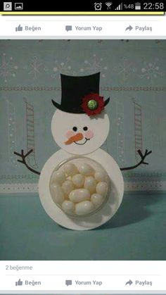 Decor Crafts, Diy And Crafts, Crafts For Kids, Arts And Crafts, Christmas Door, Christmas Crafts, Christmas Decorations, Dit Gifts, Ideas Geniales