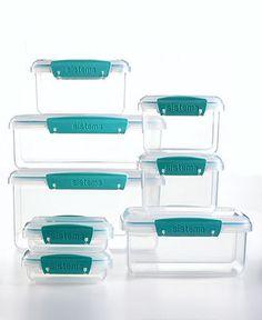 Martha Stewart Collection 16-Piece Food Storage Container Set - Kitchen Gadgets - Kitchen - Macy's
