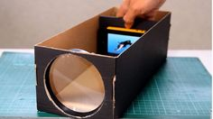 Easy DIY projects are heading to sure to make your summer fun and occupied, Check out this awesome DIY smartphone projector out of a shoe box.