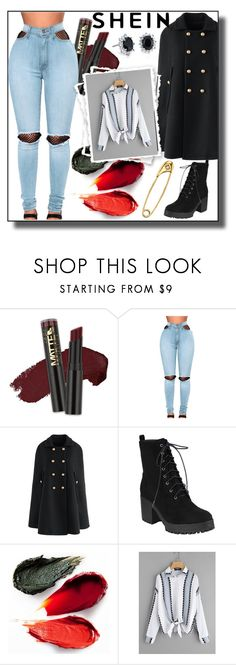 """""""SheIn"""" by mirela013 ❤ liked on Polyvore featuring L.A. Girl, WithChic, Chicwish, Rituel de Fille, Blue Nile and Diamond Star"""
