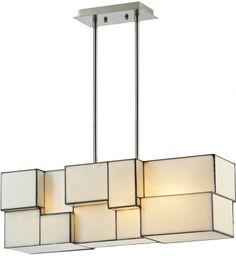 ELK Lighting - Cubist 27 Inch 4 Light Chandelier #curbappeal