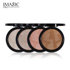 Imagic 4 Color Highlighter Powder Palette, High Quality Makeup! ⋆ LelaMart