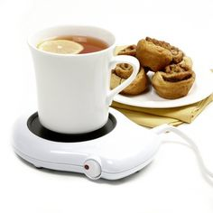 A heater to keep your coffee warm.