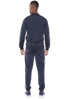 03d222dde1 Agasalho adidas Performance Mts B2Bas 3S Azul-marinho