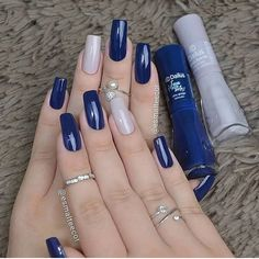 Semi-permanent varnish, false nails, patches: which manicure to choose? - My Nails Stylish Nails, Trendy Nails, Perfect Nails, Gorgeous Nails, Hair And Nails, My Nails, Nagellack Design, Manicure E Pedicure, Pedicure Ideas