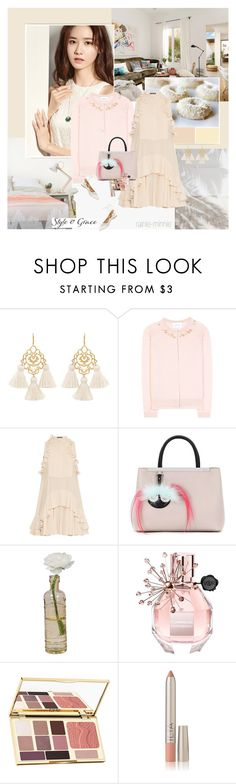 """Naturally Summer"" by rainie-minnie ❤ liked on Polyvore featuring Marte Frisnes, Simone Rocha, Alexander McQueen, Fendi, Cultural Intrigue, Viktor & Rolf and tarte"