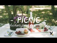 Picnic Basket Ideas - Chicken Pesto Sandwich Recipe - YouTube