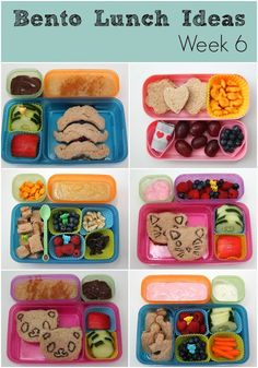 Smashed Peas and Carrots: Bento Lunch Ideas: Week 6